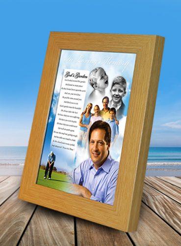 Framed Collage Presentation